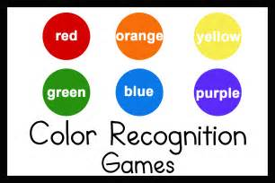 Toddler Color Recognition Games