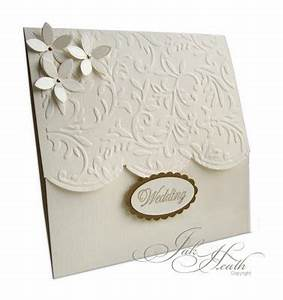 295 best images about homemade cards wedding on for Wedding invitation embossing machine