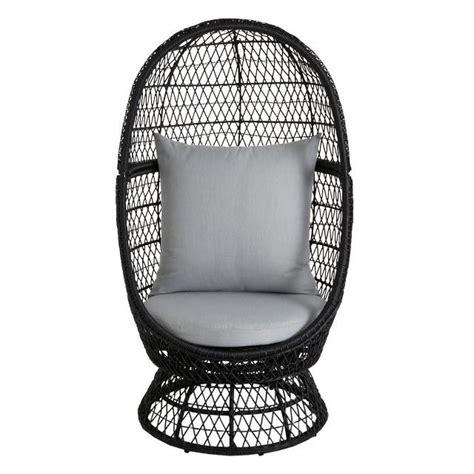 fauteuil de bureau castorama fauteuil oeuf en rotin anya avec coussins pas cher prix