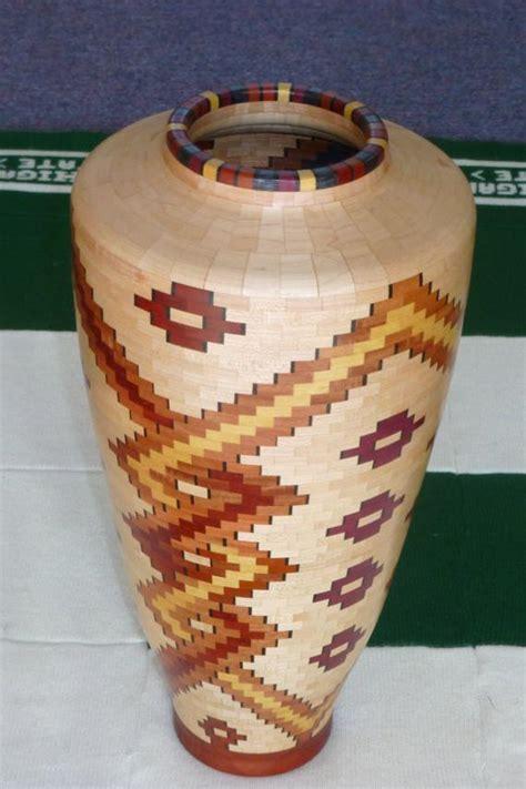 Wooden Flower Vase by Segmented Wood Flower Vase 1