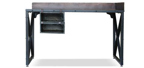 bureau industriel vintage bureau vintage industriel acier pas cher