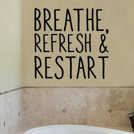 refresh  restart wall quotes decal wallquotescom