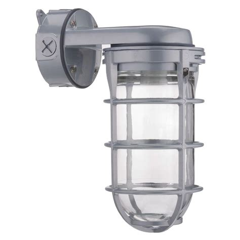 hps light fixture home depot lithonia lighting outdoor gray high pressure sodium wall