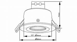 Image Result For Recessed Spotlight Technical Drawing