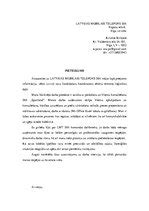 Motivācijas vēstule / Образец документа / CV / ID: 229884