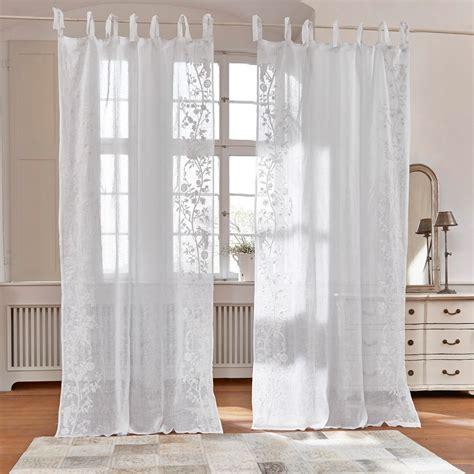 Gardinen Weiß gardine douvaine 250 140 cm loberon