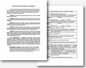 royalty free license agreement template sampletemplatess With royalty free license agreement template