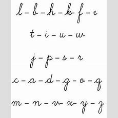 Best 25+ Letters In Cursive Ideas On Pinterest  Cursive Letters Font, Cursive And I In Cursive