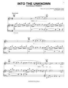 Listen to the actual track into the unknown as you begin to learn the arrangement, in order to balance parts in left and right hands. Print and download All Is Found sheet music from Frozen 2. Sheet music arranged for Piano/Vocal ...