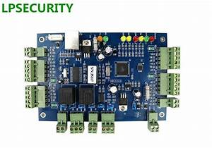 Lpsecurity Rj45 Tcp  Ip Network Access Control Board Module Tcp  Ip Network Intelligent 2 Relay