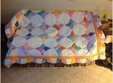 Periwinkle Quilt With A Border