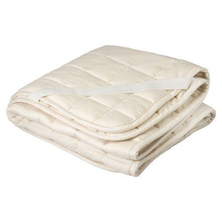 mattress pad walmart greenbuds organic wool mattress topper puddle pad