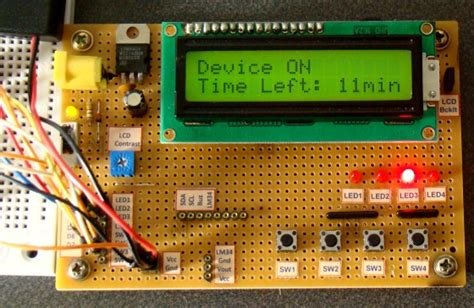 Digital Count Down Timer Circuit Project Using Pic