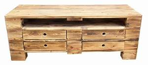 Möbel Industrial Style : m bel vintage lowboard tv kommode aus palettenholz im industrial style 120x47x44cm ~ Indierocktalk.com Haus und Dekorationen