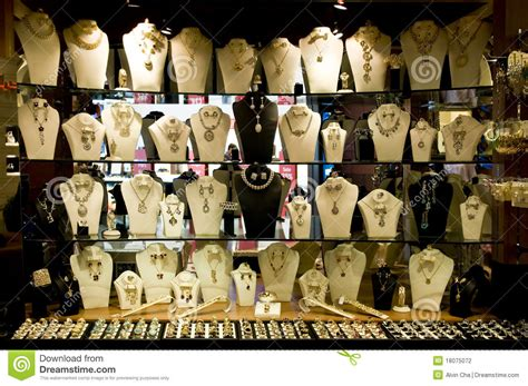 Jewelry Display Shop Editorial Photography Image Of