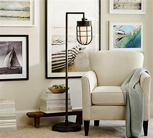 7 ways to decorate with white With white floor lamp pottery barn