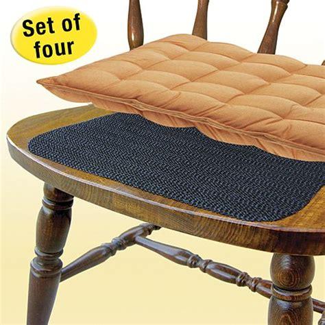 chair cushions  slipping  discreet  slip