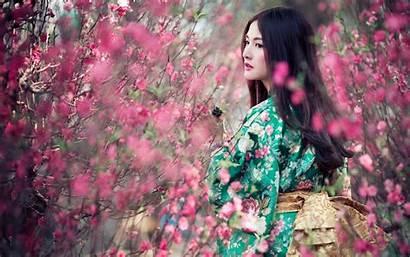 Kimono Japanese Wallpapers Asian Background Geisha Desktop