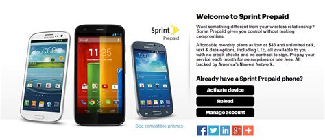 sprint prepaid iphone sprint replaces previous no contract as you go service