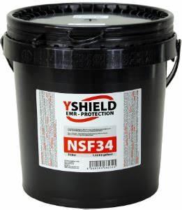 Abschirmfarbe NSF34 NF 5 Liter ESMOG Magazin