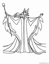 Coloring Maleficent Pages Disney Magic Witch Wand Villain Princess Powerfull Dragon Template Villains Sleeping Beauty Sheets Colorluna Fairy Printable Getcolorings sketch template