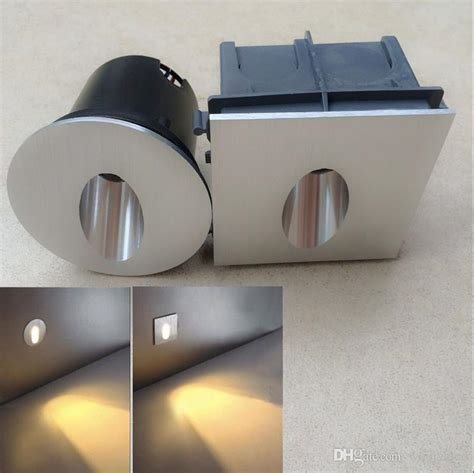 2019 led wall sconce ls 85 265v 3w aluminum recessed led stair light wall step lights in step