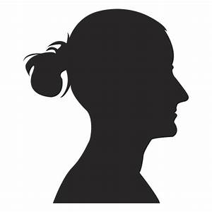 Female profile avatar 2 - Transparent PNG & SVG vector