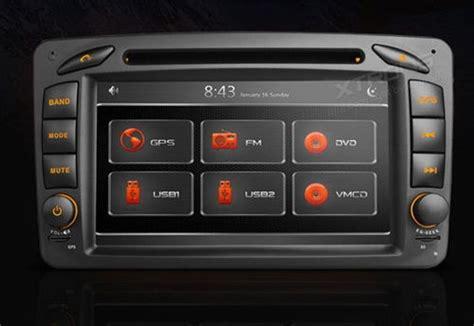 autorradio 2 din mercedes con gps dvd xtrons pf7m203gt