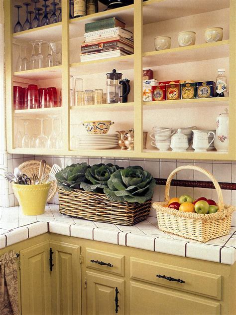 country shelves for kitchen guide to creating a country kitchen hgtv 6201
