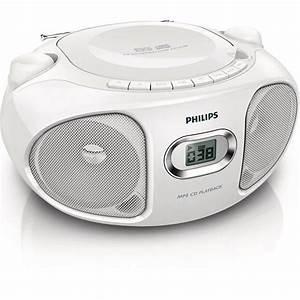 Poste Radio Maison : poste radio cd compact philips az305w 12 radio cd ~ Premium-room.com Idées de Décoration
