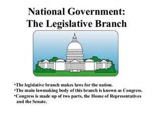 Legislative Branches of Government