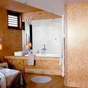 12 salles de bains de bois vetues cote maison With salle de bain design avec salle de bain en bois
