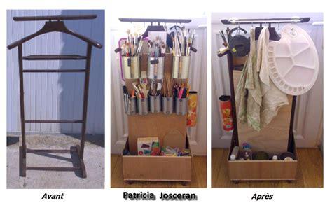 boite rangement bureau relooking d un porte vêtements ancien briko déko