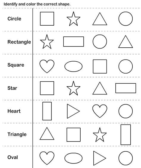 shapes kindergarten worksheets shapes kindergarten 672 | 8aa58a861b36a6e5e48075b1160e2327