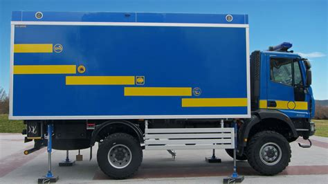 mobile desk for truck mobile office control and comand truck or vehicle euro