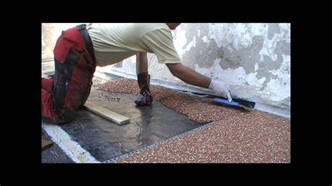 Steinteppich, Steinchenboden, Kieselbeschichtung
