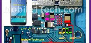 Samsung Galaxy C7 Pro C7010 Battery Connector Terminal