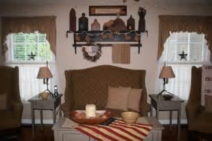 primitive living room updated home decor pinterest