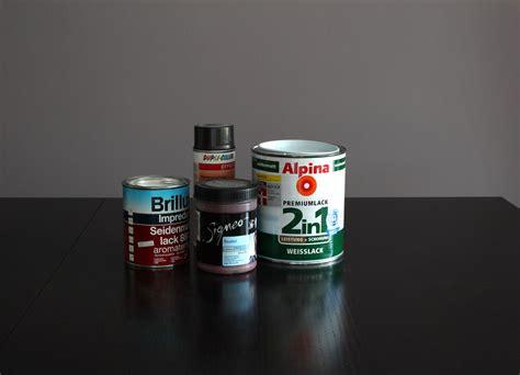 Acryllack Auf Kunstharzlack by Acryllack Und Kunstharzlack Unterschiede Vorteile Und