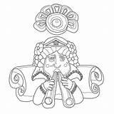 Carousel Coloring Boardwalk Looff Cruz Charles Santa Drawing Prev sketch template