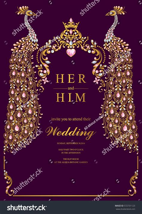 Indian Wedding Invitation Editable Templates • Business