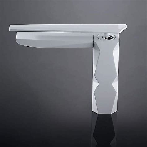 Ultra Modern Bathroom Faucets by Ikon Ultra Modern Bathroom Faucet White