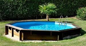 Piscine Tubulaire Oogarden : piscine bois octogonale 5 11 x 1 24 m santa barbara ~ Premium-room.com Idées de Décoration