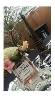 Chanel Party Theme- Favor Box   Created To Party ...
