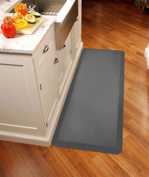 grey kitchen mat gray wellness mats anti fatigue kitchen mat 6 x 3 on