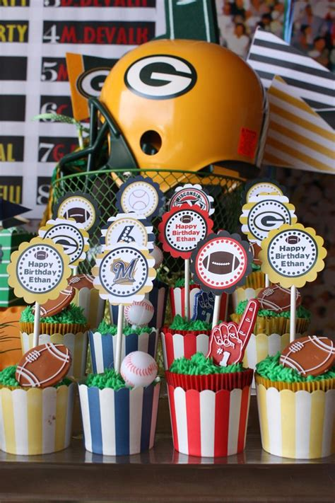 Kara's Party Ideas Sports Party Planning Ideas Supplies