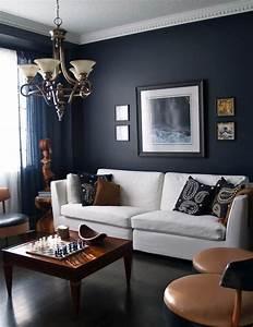 25, Dark, Living, Room, Design, Ideas