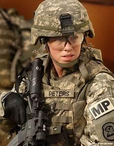 Woman in U.S. Army Uniform