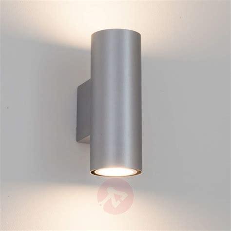 wall light 2 bulbs silver kabir led wall light 2 bulb lights co uk
