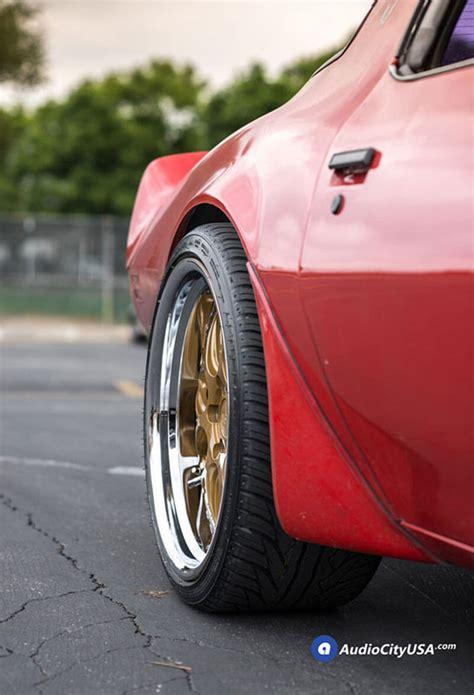 staggered rennen wheels csl  gold  chrome step